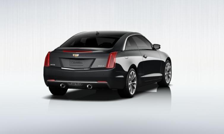 Black 2015 Cadillac ATS Coupe Premium 10