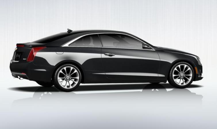 Black 2015 Cadillac ATS Coupe Premium 15
