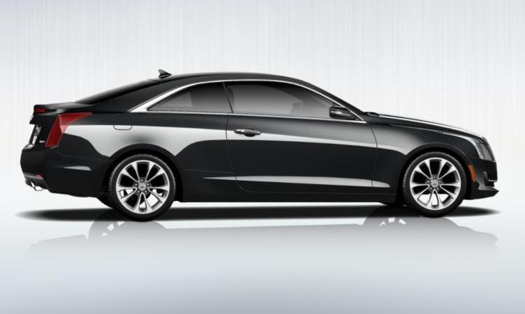 Black 2015 Cadillac ATS Coupe Premium 16