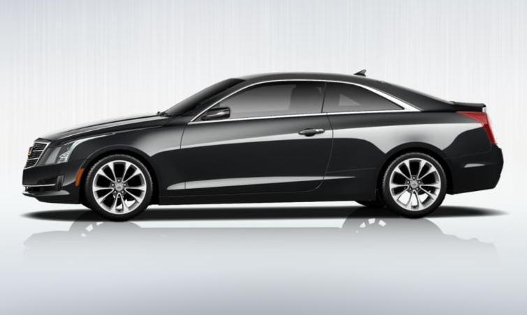 Black 2015 Cadillac ATS Coupe Premium 34