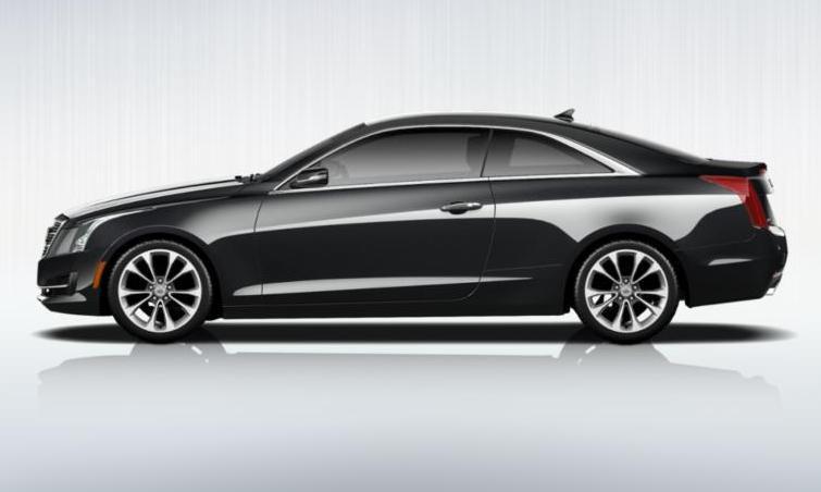 Black 2015 Cadillac ATS Coupe Premium 35