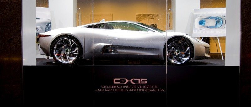 Canned Hypercar Debrief - 2010 JAGUAR C-X75 Is Too Sexy For Its Turbines 9