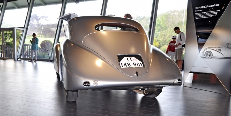 Car-Revs-Daily.com 1938 Mercedes-Benz 540K Streamliner is One-Off Coupe With Wrap-Around Glass and Aero-Smooth Design 19