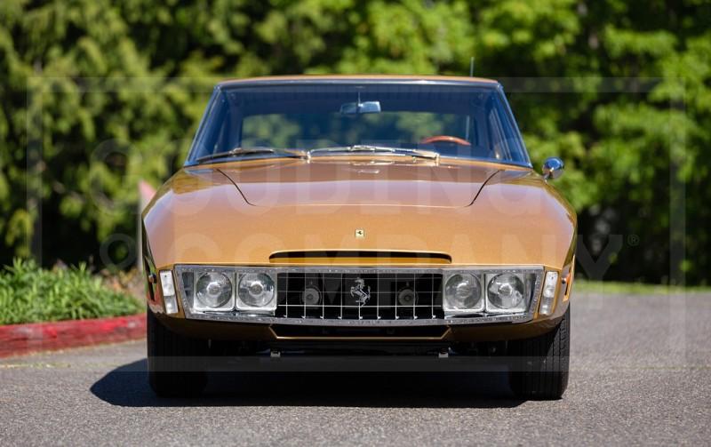 Car-Revs-Daily.com 1966 Ferrari 330GT Speciale Is Trippy 1960s One-Off Ferrari Musclecar 4