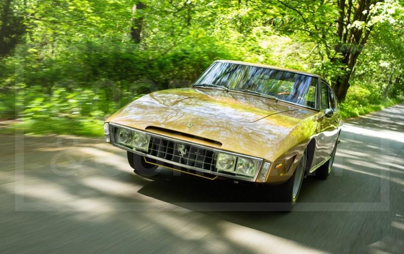 Car-Revs-Daily.com 1966 Ferrari 330GT Speciale Is Trippy 1960s One-Off Ferrari Musclecar 7