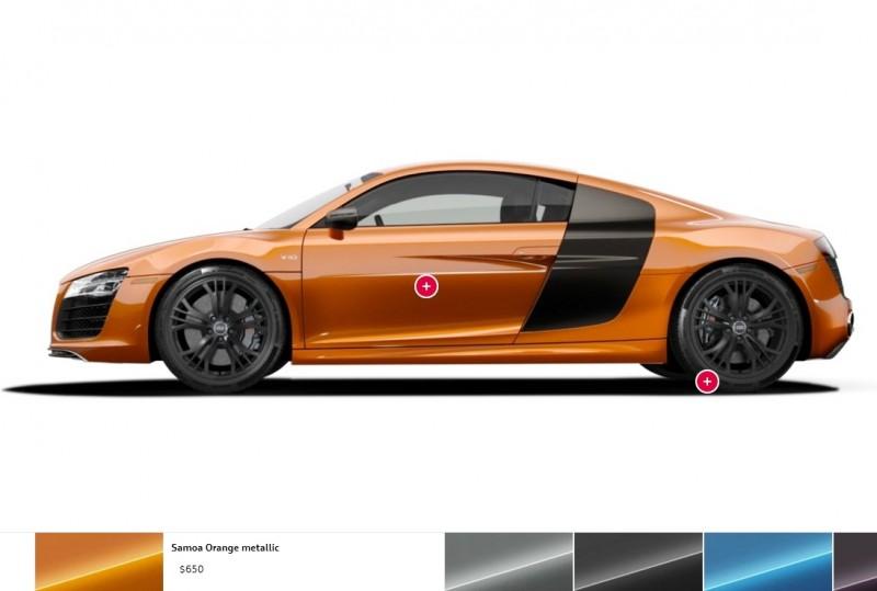 Car-Revs-Daily.com 2014 AUDI R8 V10 Plus in Sepang Matte Metallic Blue 101