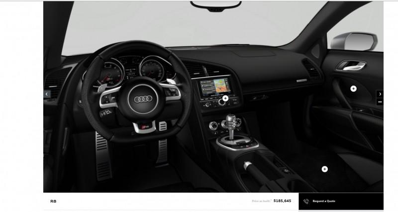 Car-Revs-Daily.com 2014 AUDI R8 V10 Plus in Sepang Matte Metallic Blue 107