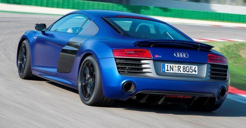 Car-Revs-Daily.com 2014 AUDI R8 V10 Plus in Sepang Matte Metallic Blue 44