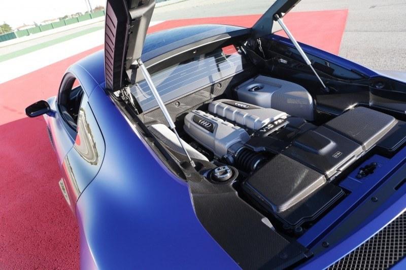 Car-Revs-Daily.com 2014 AUDI R8 V10 Plus in Sepang Matte Metallic Blue 59