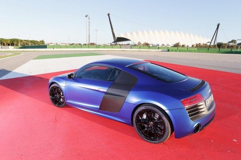 Car-Revs-Daily.com 2014 AUDI R8 V10 Plus in Sepang Matte Metallic Blue 61