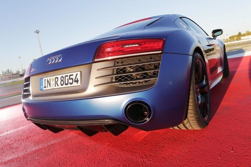 Car-Revs-Daily.com 2014 AUDI R8 V10 Plus in Sepang Matte Metallic Blue 64