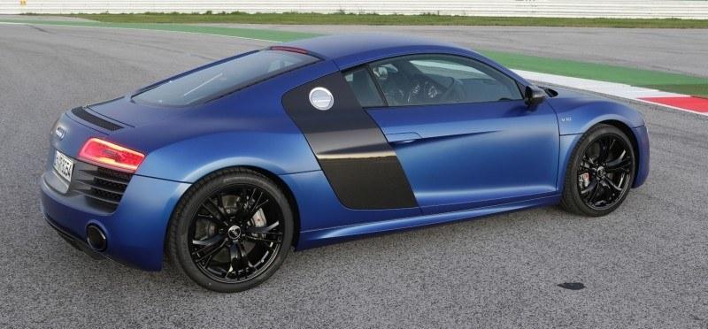 Car-Revs-Daily.com 2014 AUDI R8 V10 Plus in Sepang Matte Metallic Blue 76