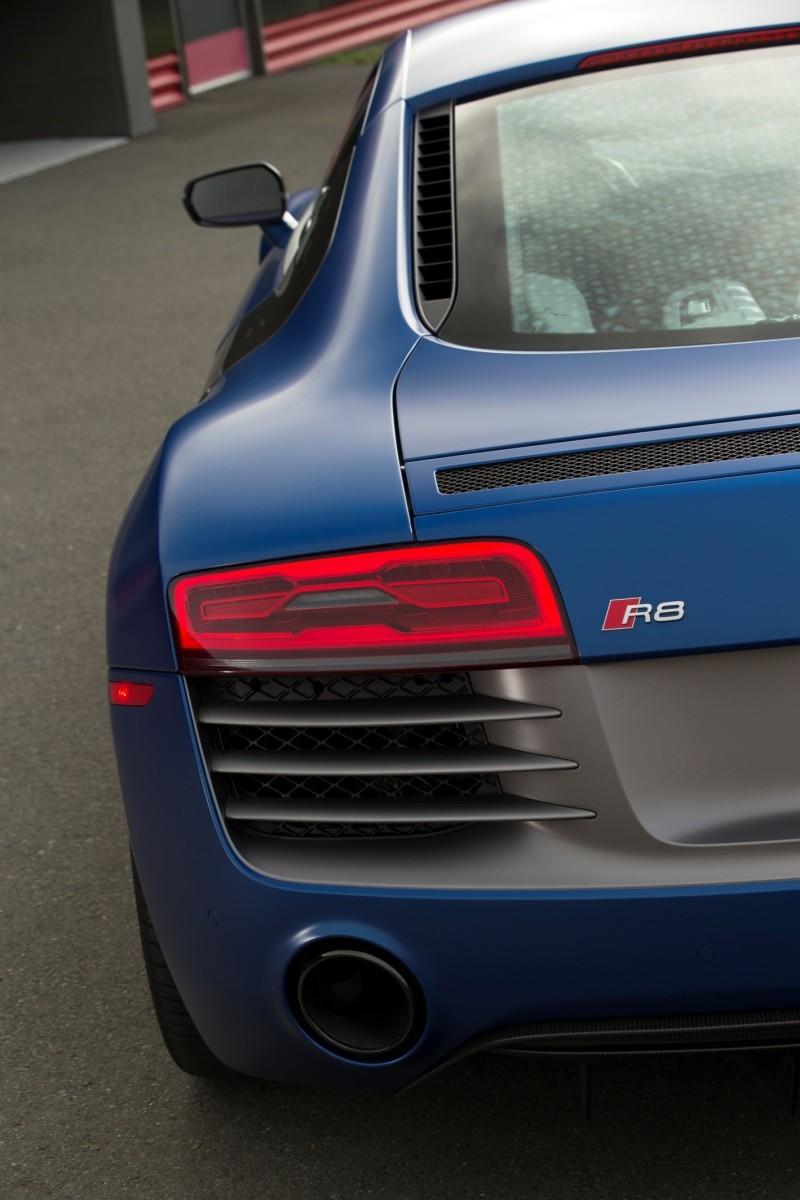 Car-Revs-Daily.com 2014 AUDI R8 V10 Plus in Sepang Matte Metallic Blue 93