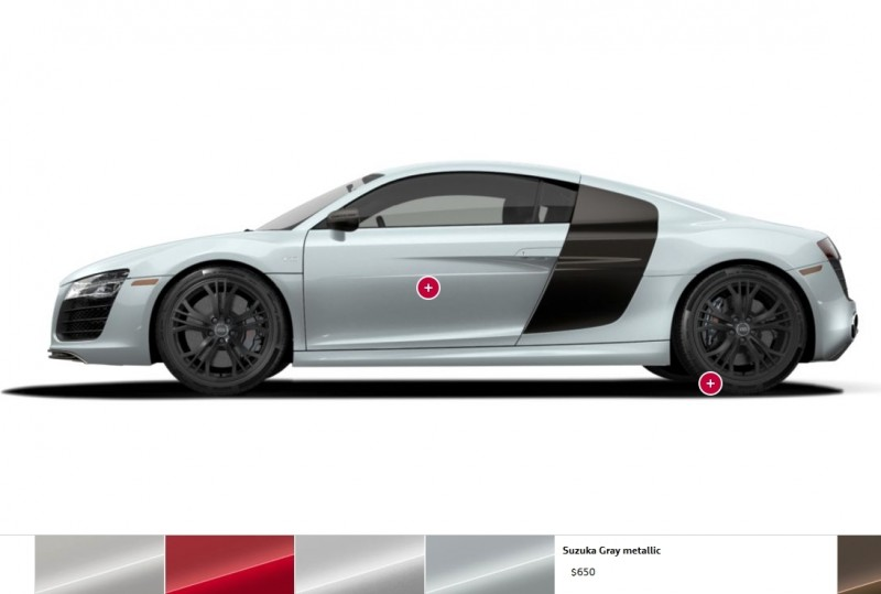 Car-Revs-Daily.com 2014 AUDI R8 V10 Plus in Sepang Matte Metallic Blue 99