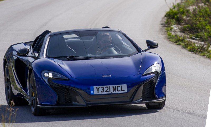 Car-Revs-Daily.com 2014 McLaren 650S Coupe and Spider Launch Ascari Circuit 57