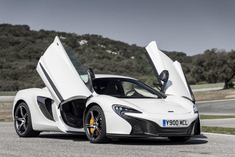 Car-Revs-Daily.com 2014 McLaren 650S Coupe and Spider Launch Ascari Circuit 70