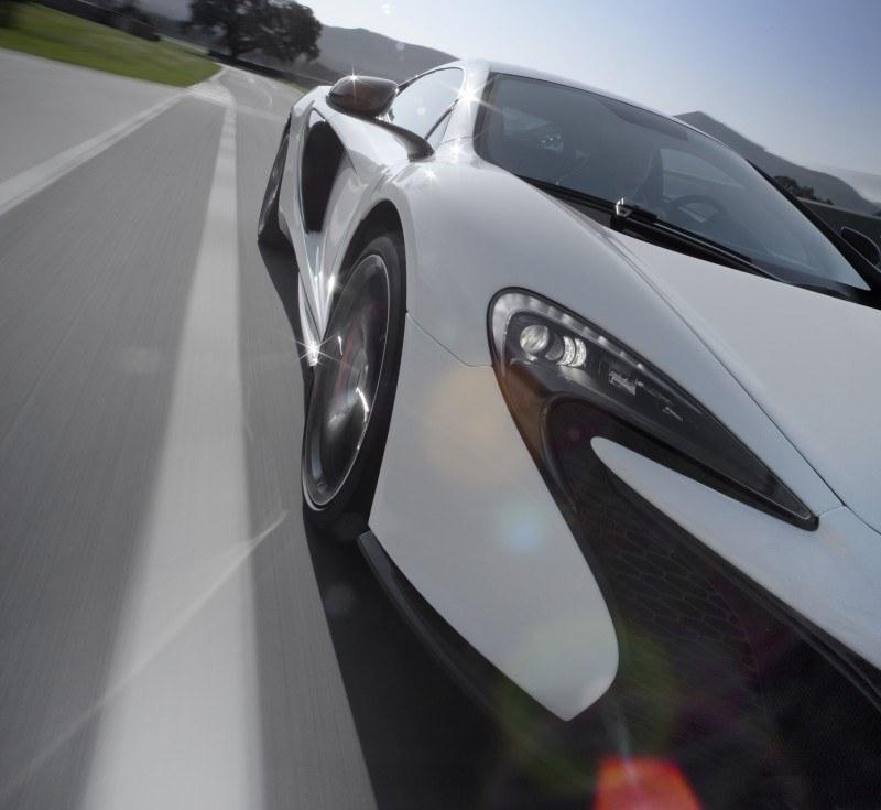 Car-Revs-Daily.com 2014 McLaren 650S Coupe and Spider Launch Ascari Circuit 73