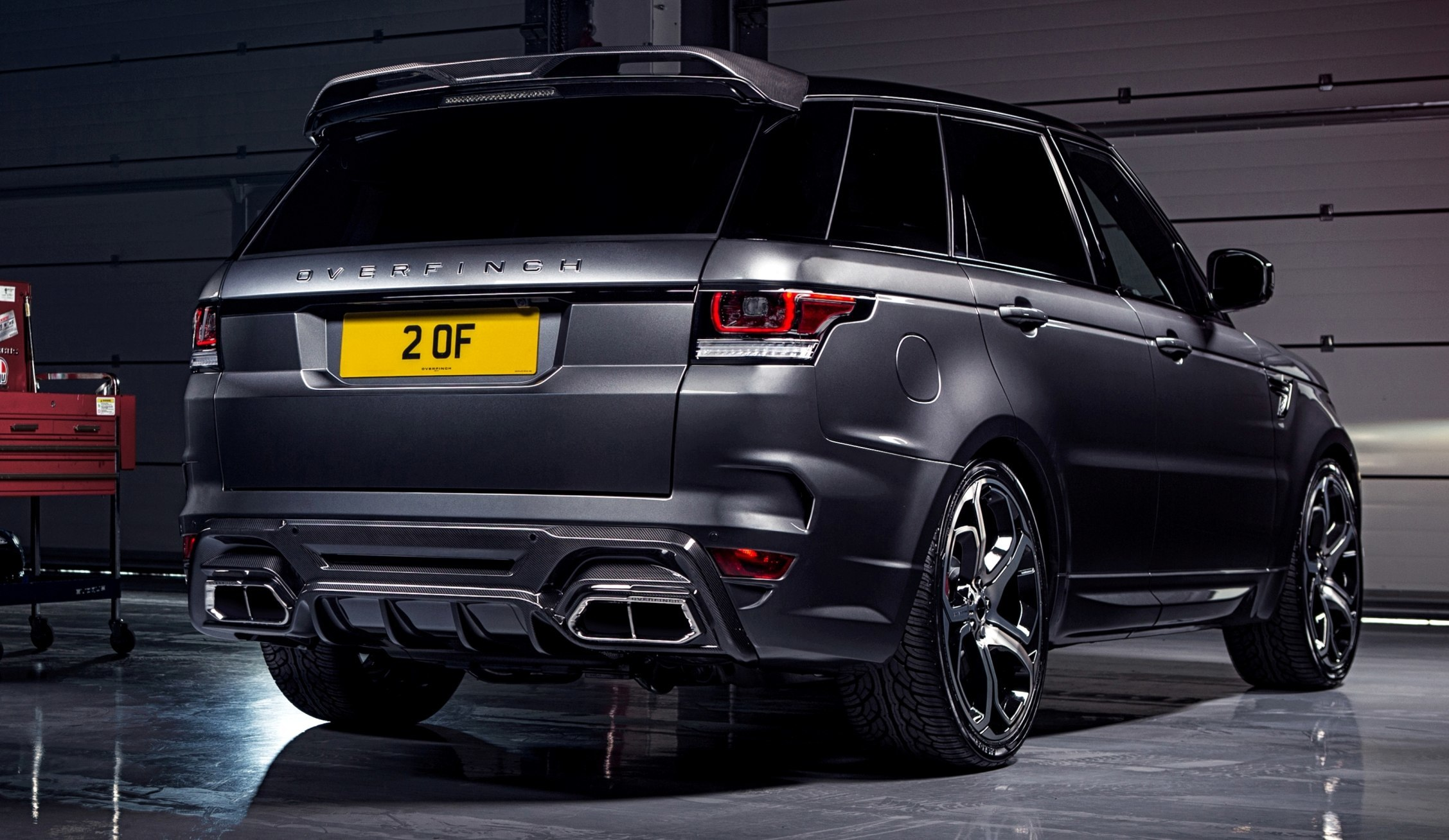 2014 Overfinch Range Rover Sport To Debut at Salon Prive With