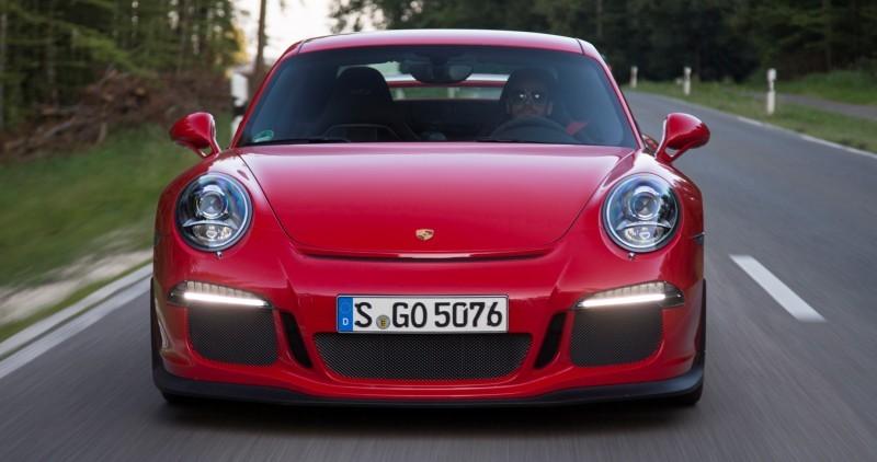 Car-Revs-Daily.com 2014 Porsche 911 GT3 is Race-Ready Street Car 1