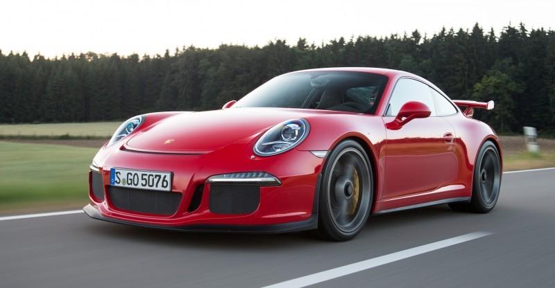 Car-Revs-Daily.com 2014 Porsche 911 GT3 is Race-Ready Street Car 15