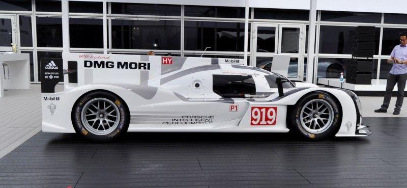 Car-Revs-Daily.com 2014 Porsche 919 LMP1 Racecar at the Quail 11