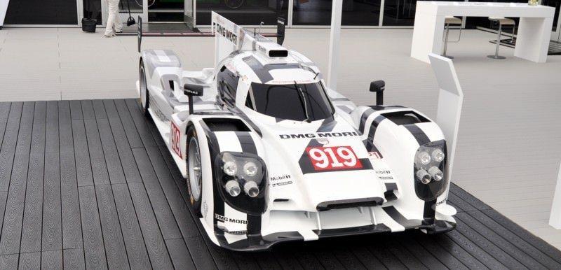 Car-Revs-Daily.com 2014 Porsche 919 LMP1 Racecar at the Quail 110
