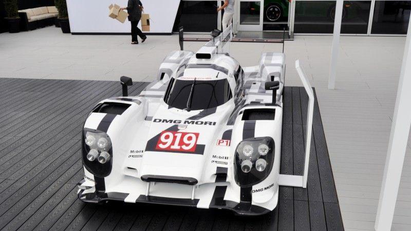 Car-Revs-Daily.com 2014 Porsche 919 LMP1 Racecar at the Quail 116