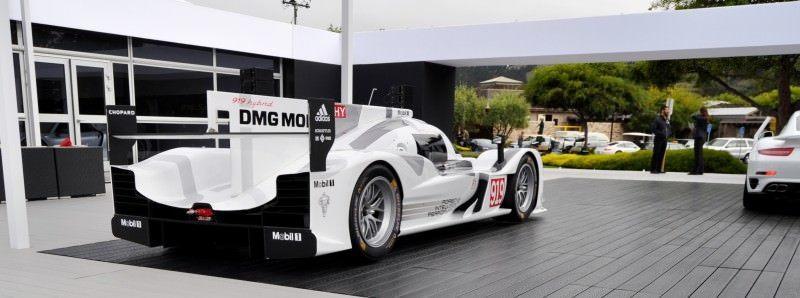Car-Revs-Daily.com 2014 Porsche 919 LMP1 Racecar at the Quail 19