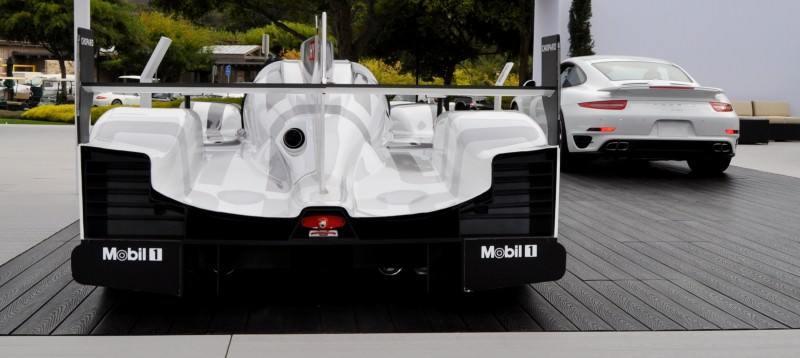Car-Revs-Daily.com 2014 Porsche 919 LMP1 Racecar at the Quail 28