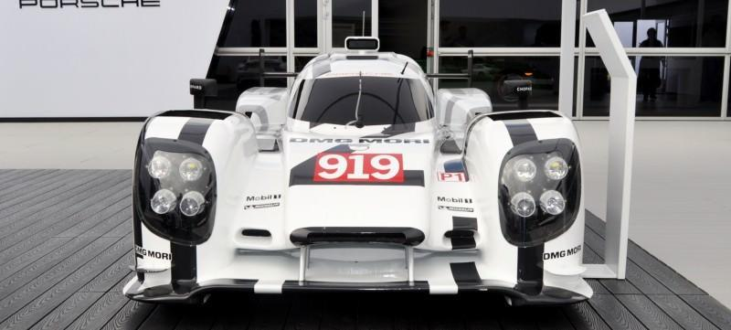 Car-Revs-Daily.com 2014 Porsche 919 LMP1 Racecar at the Quail 44