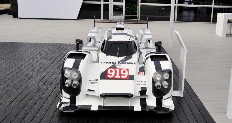 Car-Revs-Daily.com 2014 Porsche 919 LMP1 Racecar at the Quail 48