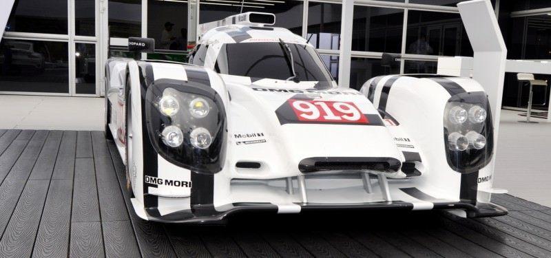 Car-Revs-Daily.com 2014 Porsche 919 LMP1 Racecar at the Quail 52