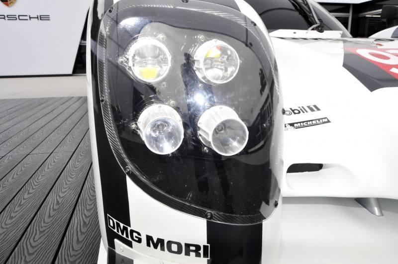 Car-Revs-Daily.com 2014 Porsche 919 LMP1 Racecar at the Quail 60