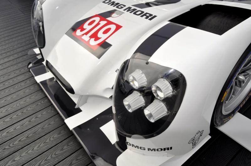 Car-Revs-Daily.com 2014 Porsche 919 LMP1 Racecar at the Quail 67