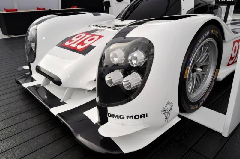 Car-Revs-Daily.com 2014 Porsche 919 LMP1 Racecar at the Quail 68
