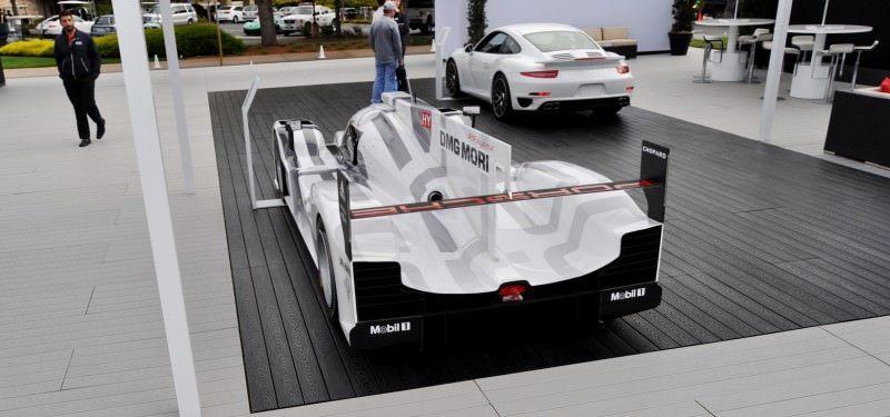 Car-Revs-Daily.com 2014 Porsche 919 LMP1 Racecar at the Quail 73