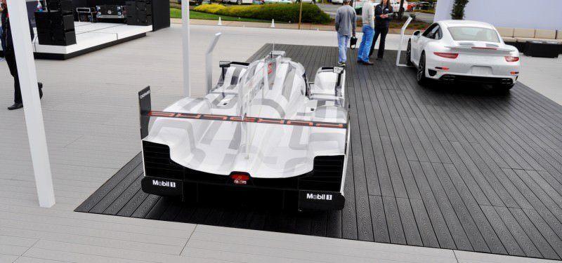 Car-Revs-Daily.com 2014 Porsche 919 LMP1 Racecar at the Quail 78