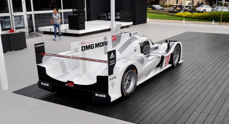 Car-Revs-Daily.com 2014 Porsche 919 LMP1 Racecar at the Quail 84