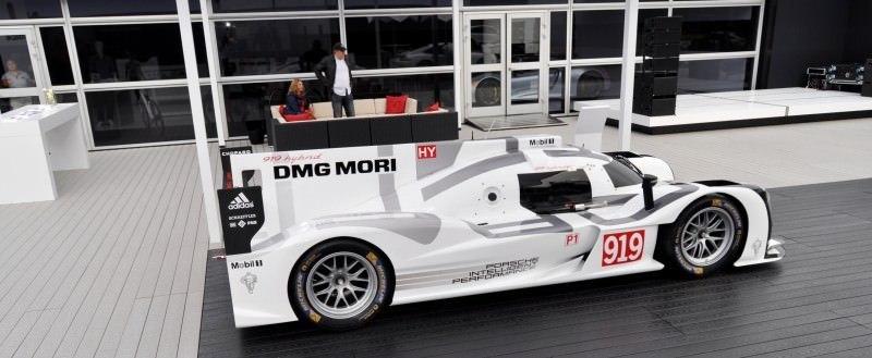 Car-Revs-Daily.com 2014 Porsche 919 LMP1 Racecar at the Quail 94