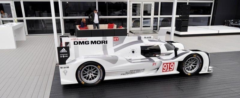 Car-Revs-Daily.com 2014 Porsche 919 LMP1 Racecar at the Quail 95