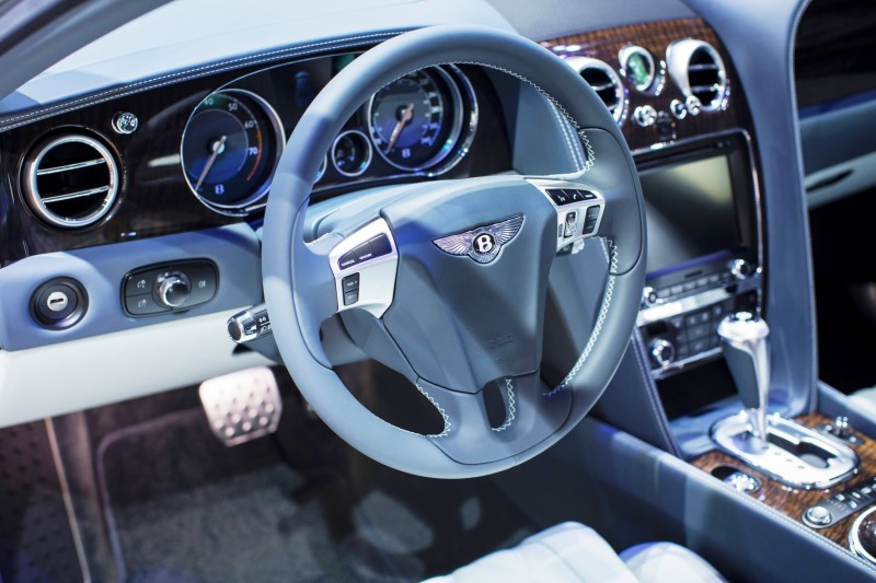 Car-Revs-Daily.com 2015 Bentley Flying Spur V8 Debuts in Moscow 16