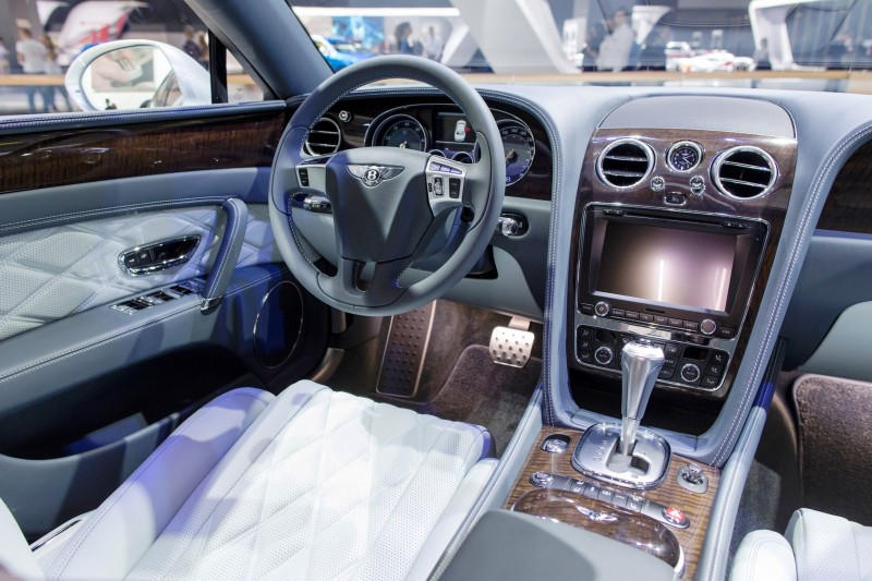Car-Revs-Daily.com 2015 Bentley Flying Spur V8 Debuts in Moscow 24