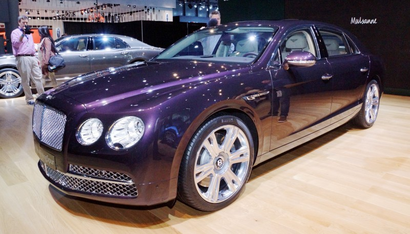 Car-Revs-Daily.com 2015 Bentley Flying Spur V8 Debuts in Moscow 27
