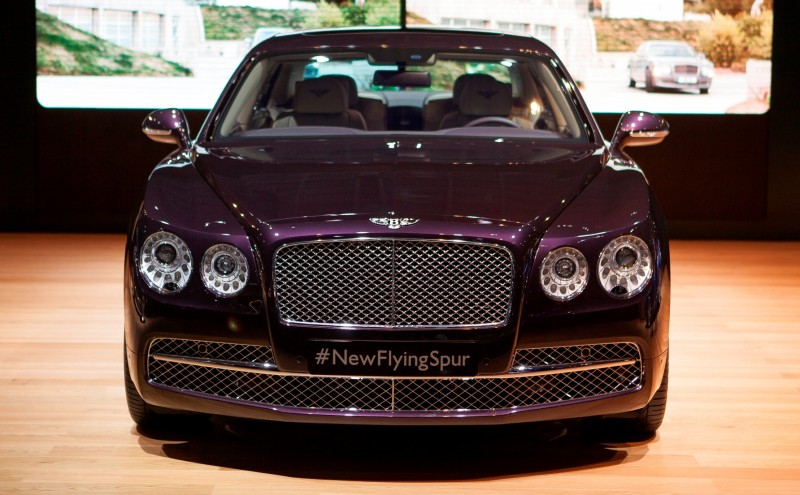 Car-Revs-Daily.com 2015 Bentley Flying Spur V8 Debuts in Moscow 43