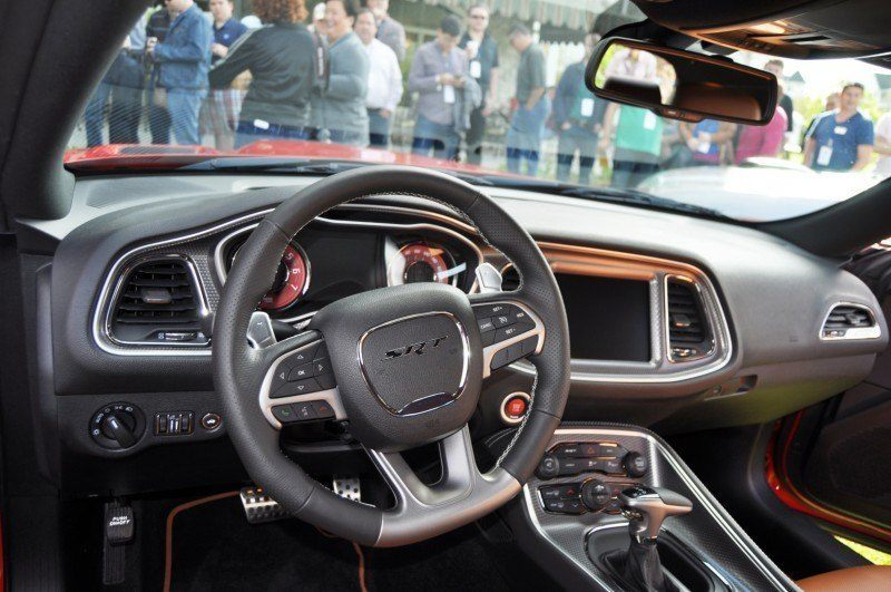 Car-Revs-Daily.com - 2015 Dodge Challenger SRT Hellcat Debut Photos and Video 35
