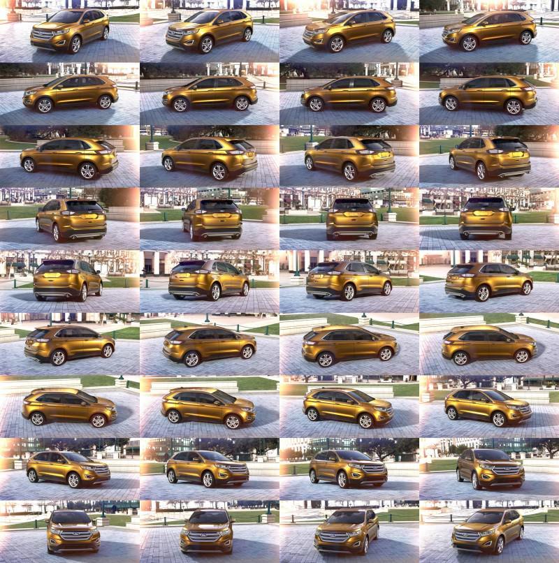 Car-Revs-Daily.com 2015 Ford Edge - Electric Spice 1