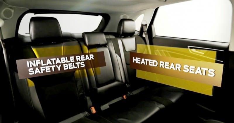 Car-Revs-Daily.com 2015 Ford Edge Sport and Titanium INTERIOR 15