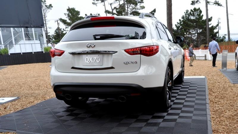 Car-Revs-Daily.com 2015 INFINITI QX70S 35