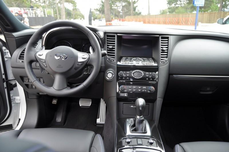 Car-Revs-Daily.com 2015 INFINITI QX70S 8