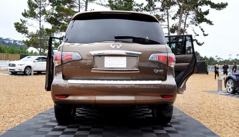 Car-Revs-Daily.com 2015 INFINITI QX80 Limited Pebble Beach 134